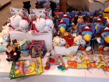 Toys of the World knuffels mascotte