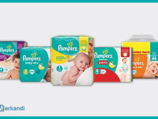 PAMPERS diapers wholesale (assortment)