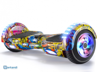 hoverboard scooter 6.5 inch met led wiel